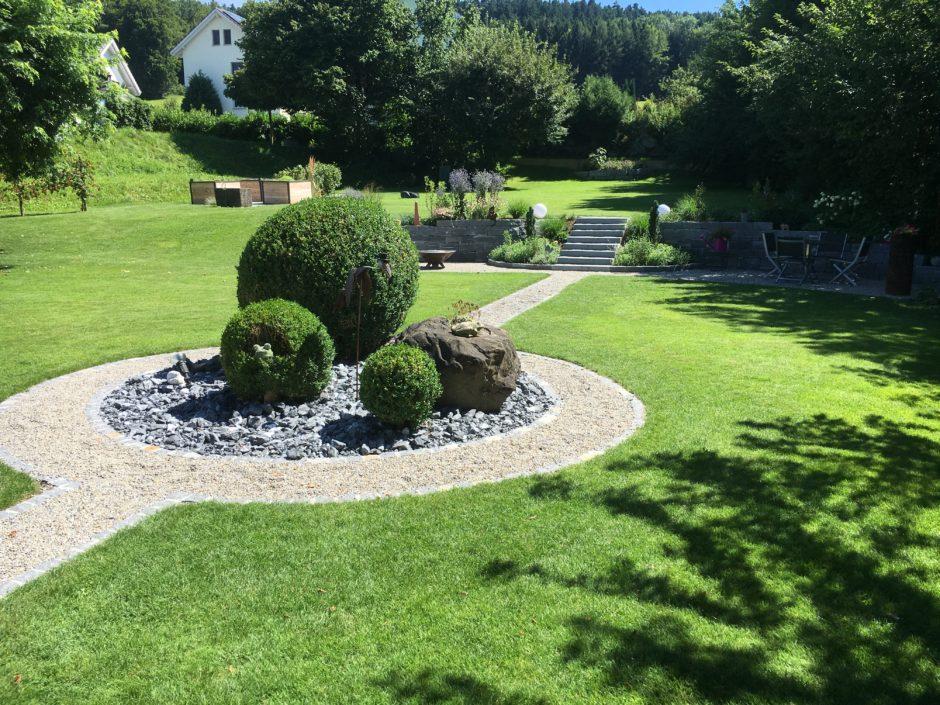 Gartenbilder Naturgruench